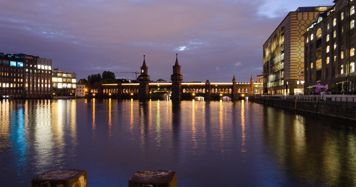 Reiseblogger Berlin an der Oberbaumbrücke